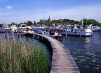 Werder, bei Potsdam, Yachthafen an der Havel,Land Brandenburg