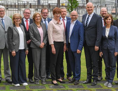 Rząd Brandenburgii na posiedzeniu wyjazdowym we Frankfurcie nad Odrą. Tematem m.in. intensyfikacja współpracy z Polską.
