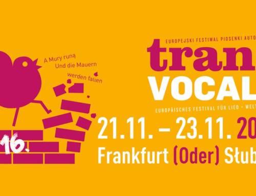 Nadchodzi 16 wydanie polsko-niemieckiego festiwalu TransVOCALE