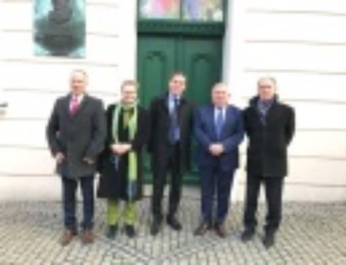 Pełnomocnik rządu Brandenburgii do spraw kontaktów z Polską z wizytą w Zielonej Górze